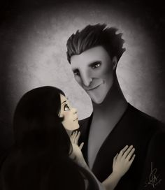 Pitch & his daughter by DarthShizuka.deviantart.com. I didnt know he had a daughter