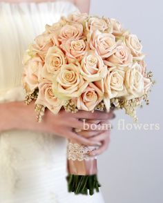 wedding bouquets - sahara roses
