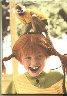 Pippi Longstocking- I was obsessed with the books and movie when I was a kid!