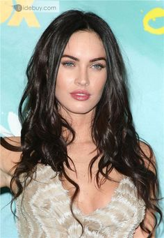 Sexy and Hot Megan Fox Hairstyle Remy Human Hair about 20inches 100%Human Hair : Tidebuy.com