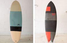 Sea surfboards.
