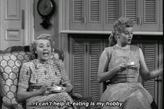 Lucy and Ethel<3
