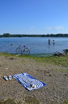 Pláž ve Vidinu Bulgaria, Beach Mat, Outdoor Blanket
