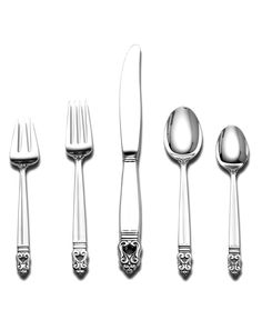 International Silver Royal Danish Sterling Silver 5-Piece Place Setting - Flatware & Silverware - Dining & Entertaining - Macys Bridal and Wedding Registry