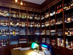 Beer library in Vilnius, Lithuania http://www.onfoodietrail.com/vilnius-food-drinks/