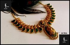 Handmade signature pice of clay jewellery by AURA Clay Jewelry, Jewelry Art, Jewelry Design, Fashion Jewelry, Jewellery Box, Terracotta Jewellery Designs, Terracota Jewellery, Indian Jewelry, Beaded Necklace