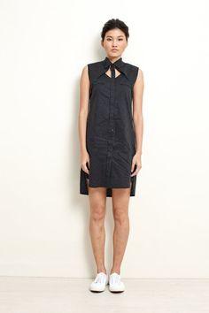 Women Shirt Dress  Polka Dress  Shirt Dress  by garylindesign, $130.00