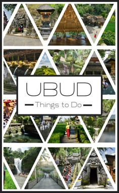 23 Fun and Unusual Things to do In Ubud. No. 3 is the Best