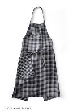 チェックのエプロン | [ ヨーガンレール ] 通信販売 I want an apron