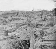 Petersburg earthworks - US Civil War
