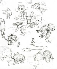 concept art by Chris Sanders (Lilo and Stitch) @Abraham Thomas Thomas Thomas Thomas Tarkeshian, recognize this?