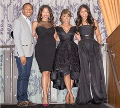Majorie Harvey & kids Steve Harvey Family, Lori Harvey, Majorie Harvey, Ball Dresses, Evening Dresses, Barack And Michelle, Style And Grace, Classy And Fabulous, Her Style