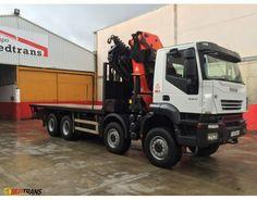Camion grua IVECO TRAKKER 450 (8X8) PALFINGER 60002