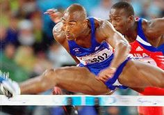 Colin Jackson Olympic Sports, Hurdles, Track And Field, Olympics, Jackson, Wrestling, Athletes, Lucha Libre, Track Field