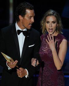 Matthew McConaughey dan Scarlett Johansson