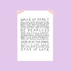 Nova and Me Words to Live By A4 Print – And so to Shop What Makes You Happy, Are You Happy, Stars Play, Trust Your Instincts, Staying Up Late, How To Wake Up Early, New Home Gifts, Looking Up, Forgiveness