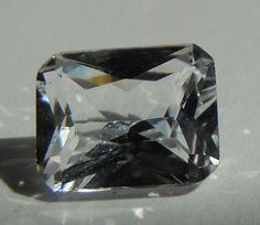 Women Jewelry: Radiant Brilliant Cut 8 X 10 Mm Rare Real 4.0 Ct Vvs White Sapphire Solitaire -> BUY IT NOW ONLY: $69.97 on eBay!
