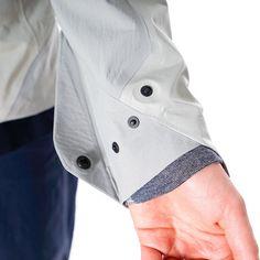 shyshounen:  arc'teryx veilance composite hooded jacket talus grey