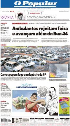 Arte para Jornal O POPULAR