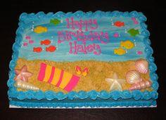 Beach Sheet Cake Ideas | tropical_sheet_cake.jpg