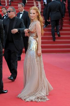 Jessica Chastain in 'Lawless' Premiere in Cannes