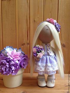 Коллекционные куклы ручной работы. Ярмарка Мастеров - ручная работа. Купить Кукла текстильная ручной работы Polli.. Handmade.