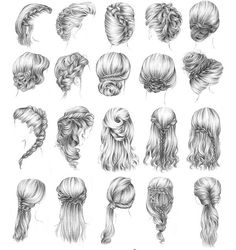One of these WILL be my prom hair