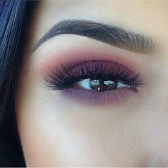 makeup, eyebrows, and eyes