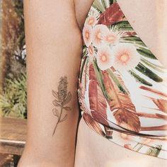 healed little banksia pod 🌿 I love creating tiny delicate details. Finger Tattoo For Women, Finger Tattoos, Tattoos For Women, Skin Piercing, Piercing Tattoo, Piercings, Poke Tattoo, Arm Tattoo, Delicate Tatoos