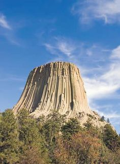Devil's Tower, Wyoming (igneous intrusive)