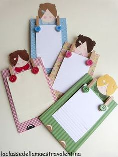 Mothers Day Gifts – Gift Ideas Anywhere Diy Paper, Paper Art, Paper Crafts, Crafts To Make, Crafts For Kids, Arts And Crafts, Homemade Gifts, Diy Gifts, Post It Note Holders