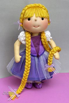 Rapunzel : ) by Tata Bonecas, via Flickr