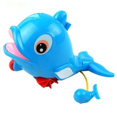 1pcs Dolphin Waterproof Lights Led Floating Dolphins Childrens Bath Toys