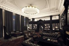 The Library Lounge at the new DoubleTree by Hilton in Liverpool - what do you think? Personally, we love it!