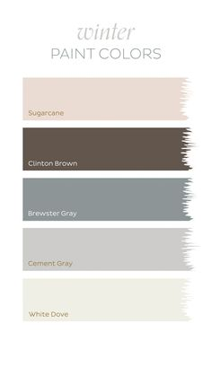 Wondering about the paint colors from our Winter 2016 catalog? Here are the Benjamin Moore colors you're coveting.