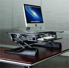 NewStar zit-sta werkplek Zit-sta Werkplek van Newstar, perfect om een standaard bureau / werkplek te veranderen in een gezonde, ergonomische zit-sta werkplek. Het geveerde liftsysteem zorgt ervoor dat je eenvoudig kunt switchen tussen staan en zitten. Deze zit-sta werkplek is voorzien van een ruimte werkruimte en een toetsenbord en muis houder.  Zoals je mag verwachten biedt dit ergonomische produkt een optimaal aan comfort, bewegingsvrijheid, en productiviteit. Ook op je werk kun je…