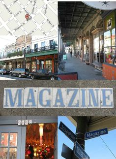 The shops along the 2000 block of Magazine Street feature a variety of great unique-to-NOLA finds!