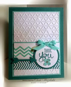 Stampin' Up! Work of Art Card - Me, My Stamps and I