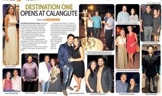 Destination One India launch featured in oHeraldo Goa Cafe section. 30th October 2014.