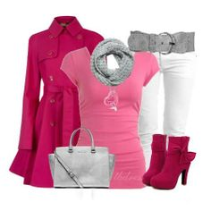 The Flirty Valentine This is a cute, winter inspired, and flirty outfit for Valentines that will impress everyone! Trench Coat Outfit, Pink Trench Coat, Diva Fashion, Fashion Outfits, Womens Fashion, Ladies Fashion, Pretty Outfits, Cute Outfits, Pretty Clothes