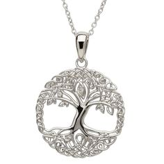 ShanOre Sterling Silver Tree of Life Pendant