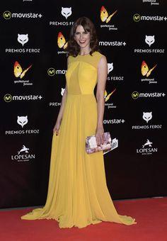 Premios Feroz 2016. Bárbara Santa-Cruz