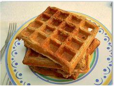Oatmeal Blender Waffles Recipe (gluten-free, nut-free, vegan)