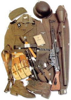 When World War II began in Europe in 1939, the uniforms worn by the soldiers were, in many cases, not much different from those their fathers had worn in the First World War. But the mass slaughter of World War I...
