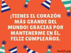 • 91 Frases de cumpleaños para felicitar a las personas que más quieres. Spanish Greetings, Birthday Posts, Love Messages, Birthdays, App, Quotes, Party, Ideas, Sayings And Quotes