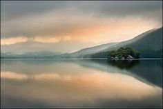 Dawn over Coniston Water - Oliver Hawker