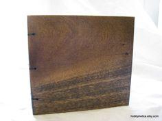 Small Poplar plain Wood Journal with coptic binding by hobbyholica, $30.00