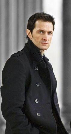 Richard Armitage in a pea coat. Love it!