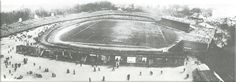 A panoramic view of the Crystal Palace ground during the 1905 FA Cup final, the only such photograph of the stadium known to exist. The pavilion is to the right. Crystal Palace Football, Crystal Palace Fc, Vintage London, Old London, Birth Of Nation, Fa Cup Final, London Pictures, Everton, The Locals