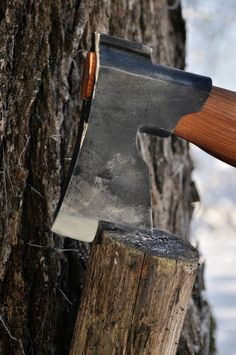 Traditional Finnish Forest Axe (hand forged)